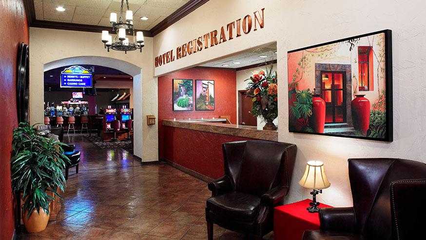Fiesta Rancho Hotel Registration